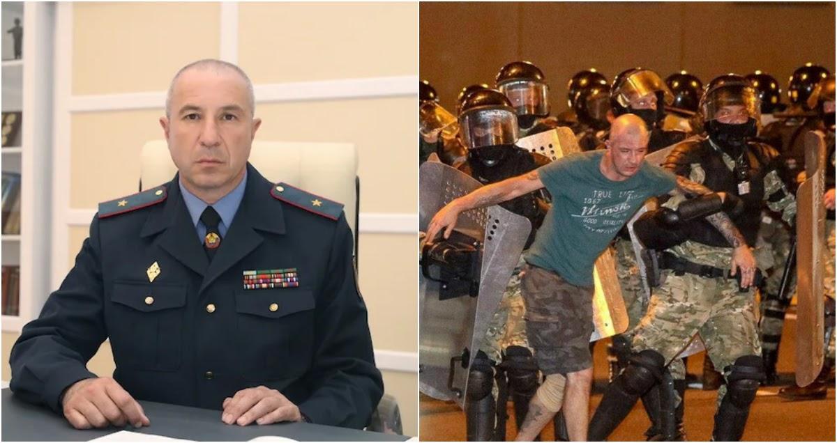 Глава МВД извинился перед «случайно избитыми» протестующими в Белоруссии