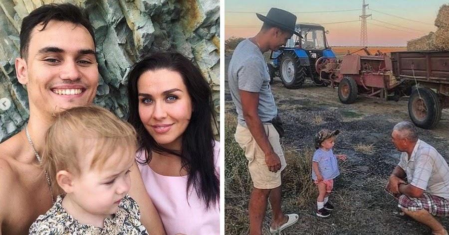 Крымский таксист выгнал пару с ребенком в поле. Их спас тракторист