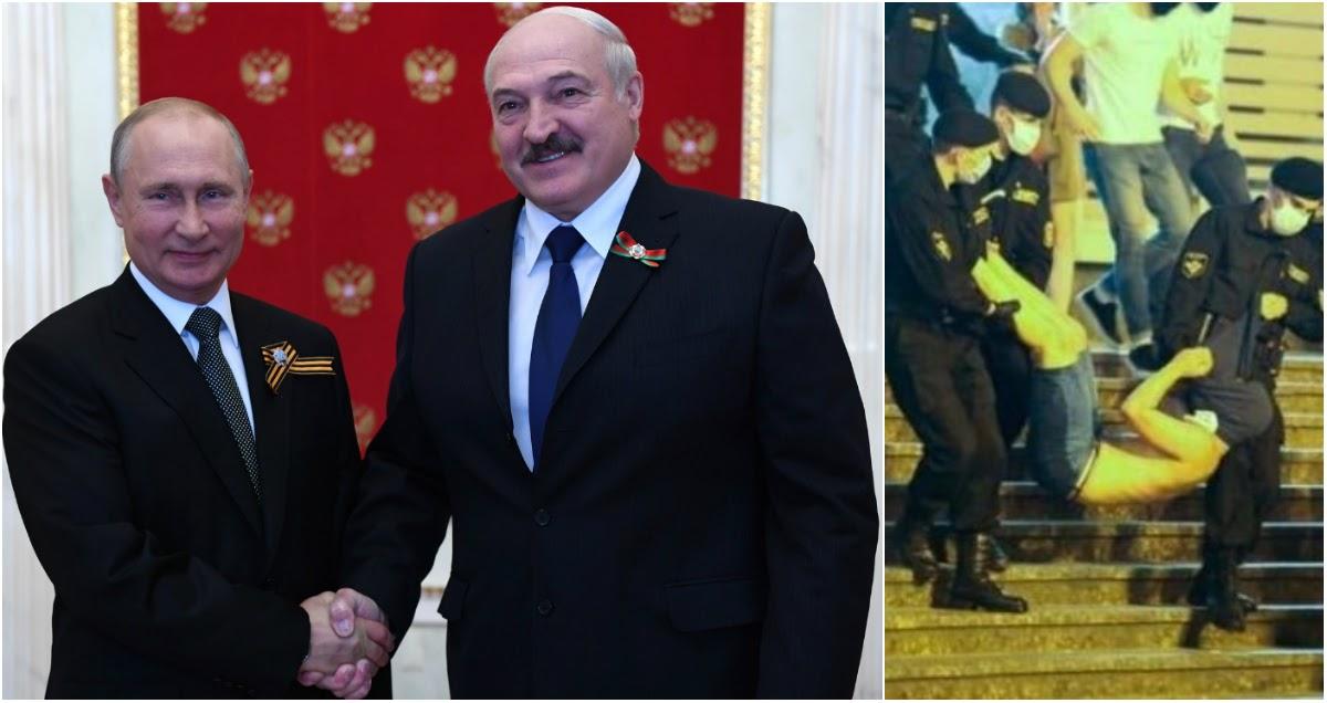 «Я звоню Путину»: Лукашенко заявил, что намерен решить вопрос протестов