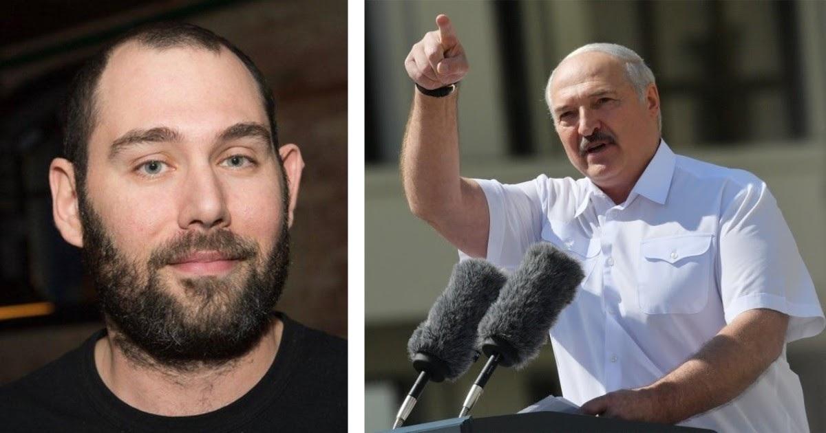 Слепаков стихами обратился к Лукашенко