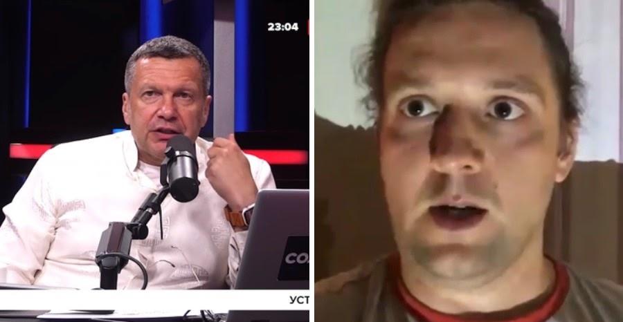 """Соловьев объяснил поступок """"рабочего Белаза"""", показавшего срам в эфире"""