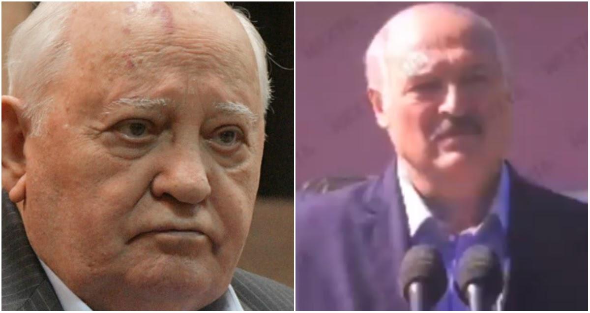 Фото Горбачев оценил шансы Лукашенко сохранить власть в Белоруссии