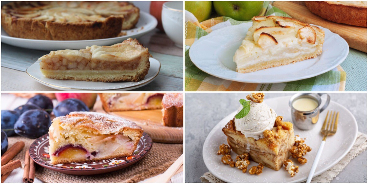 7 вкусных рецептов пирога с яблоками