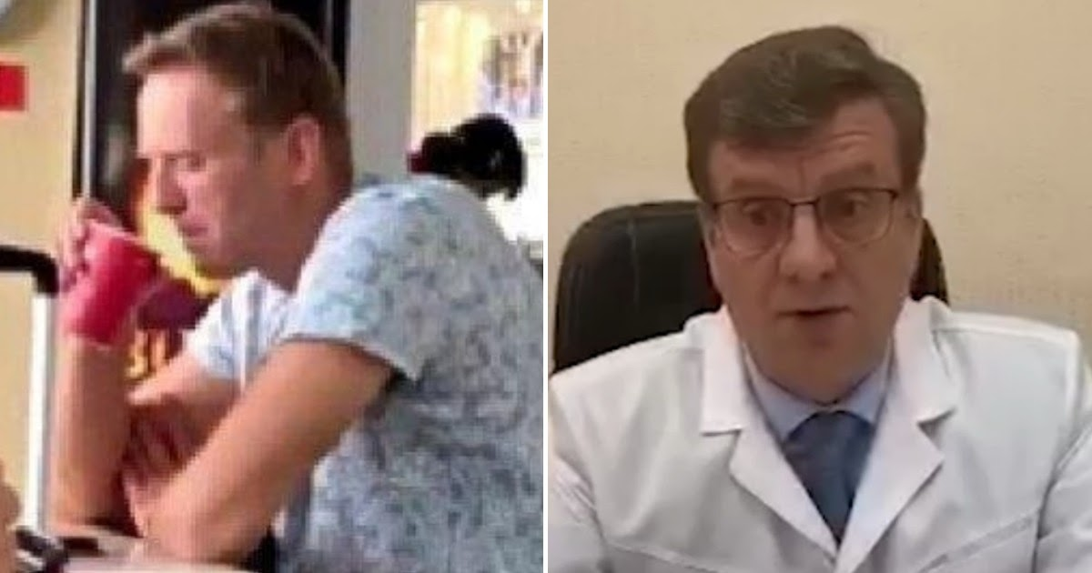 Главврач назвал вещество, найденное на руках и одежде Навального