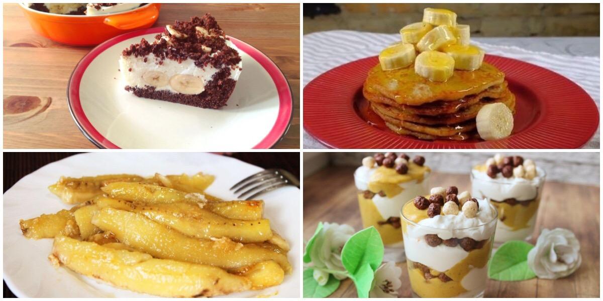 7 вкусных банановых десертов