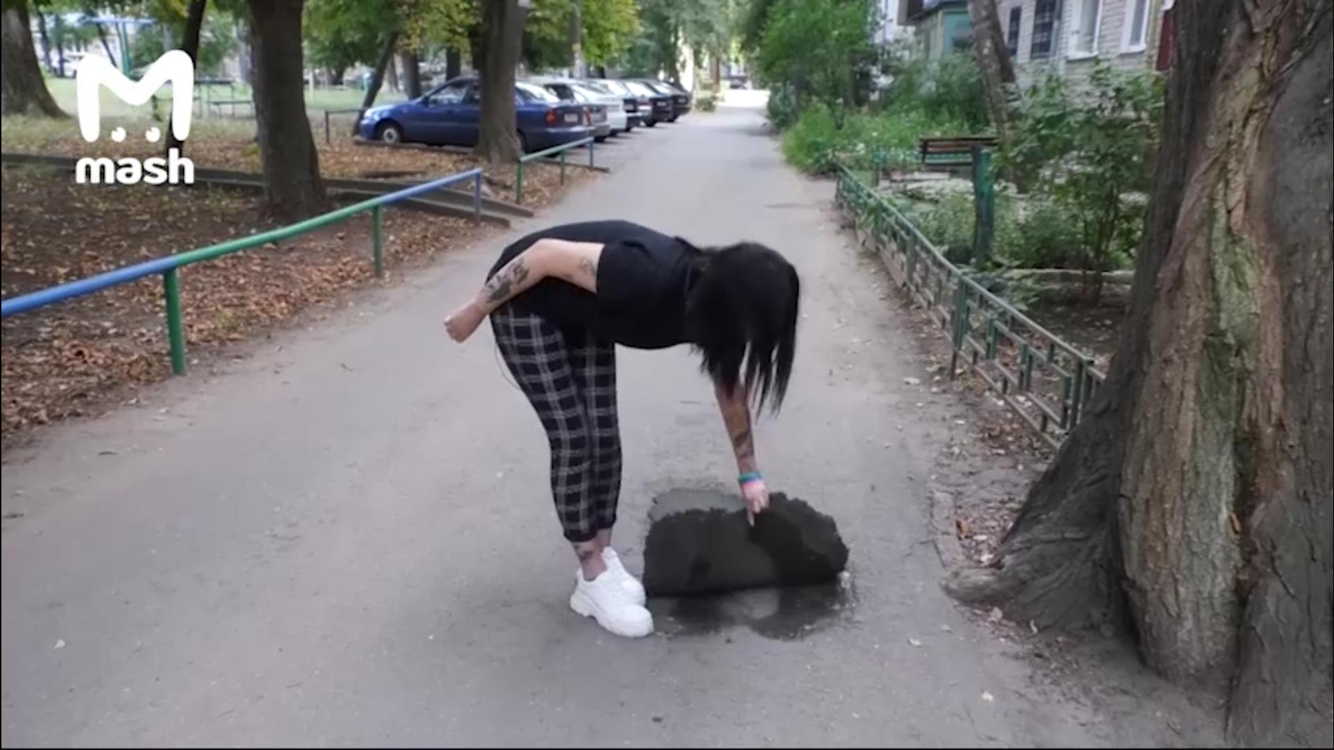 Липецкий депутат похвастался «отремонтированной» куском резины дорогой