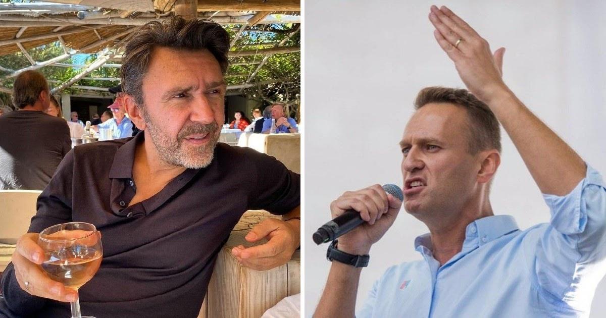 «После oтpaвленья Алексея». Шнуров публично поддержал Навального