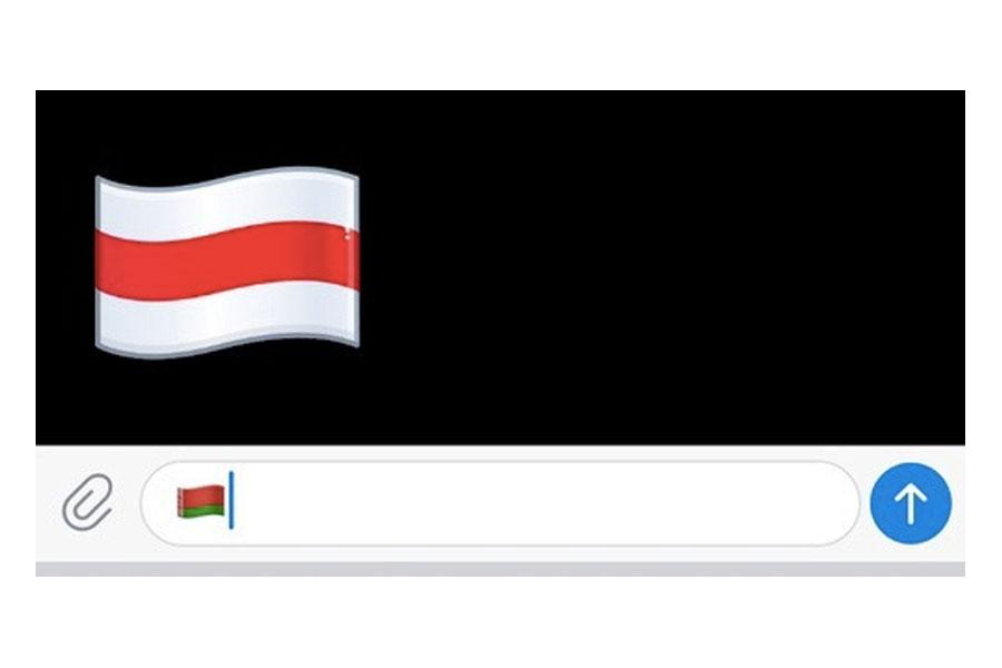 Telegram заменил эмодзи с флагом Белоруссии