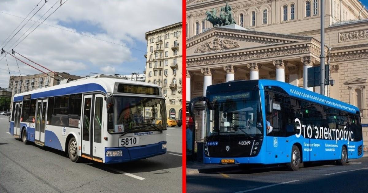 Смерть московского троллейбуса. За что ругают собянинские электробусы