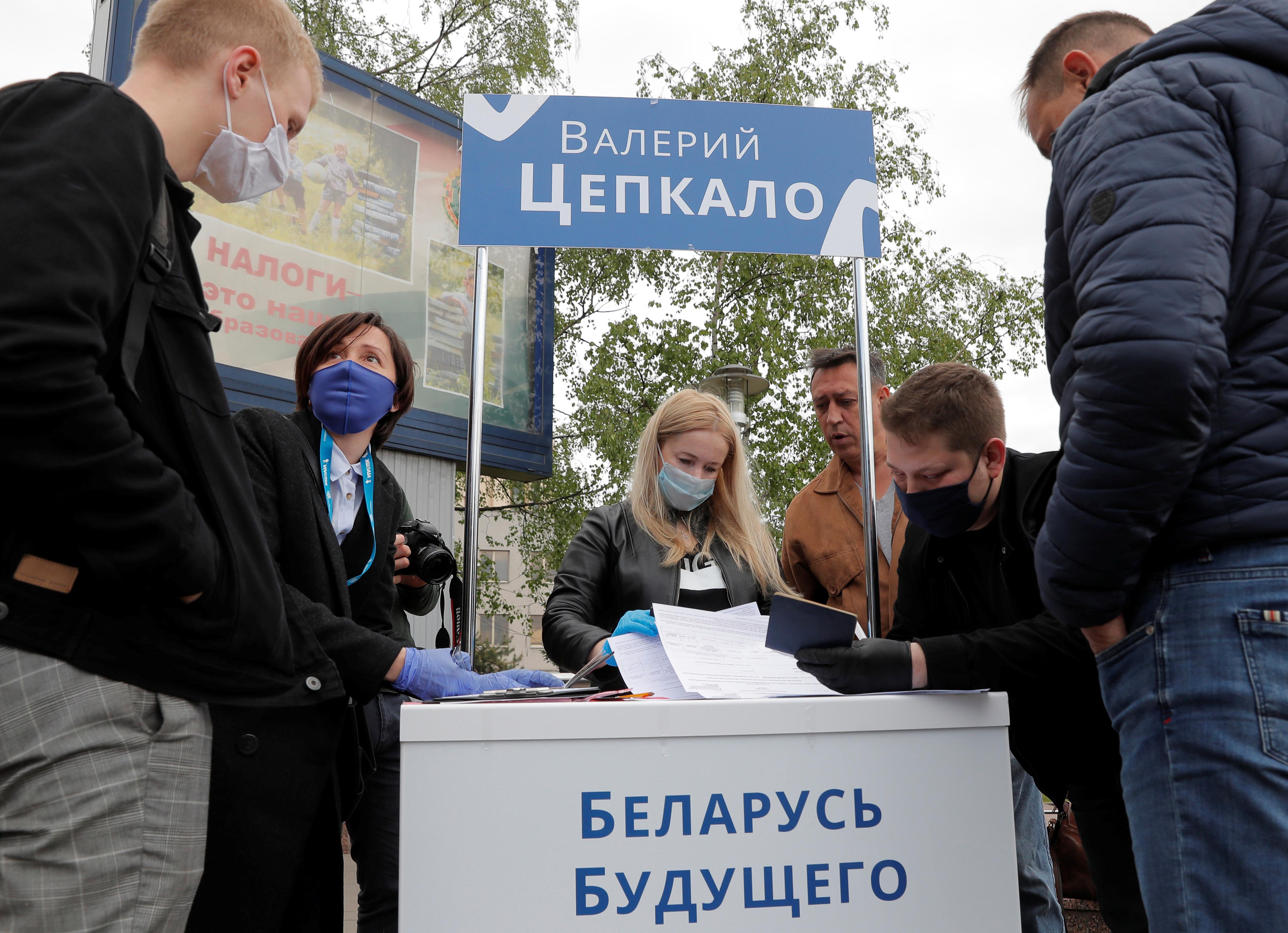 В Минске проводят обыск в доме Цепкало