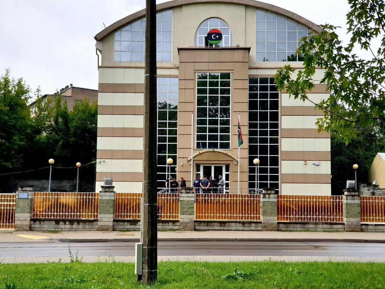 В Минске попытались взять штурмом посольство Ливии