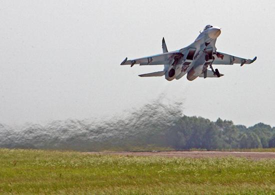 Причиной мартовского крушения Су-27 в Крыму назвали взрыв