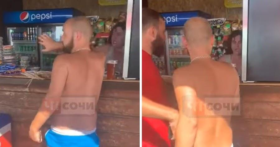 """Треш там был"". Сотрудница кафе в Сочи дала туристам бой на пляже"