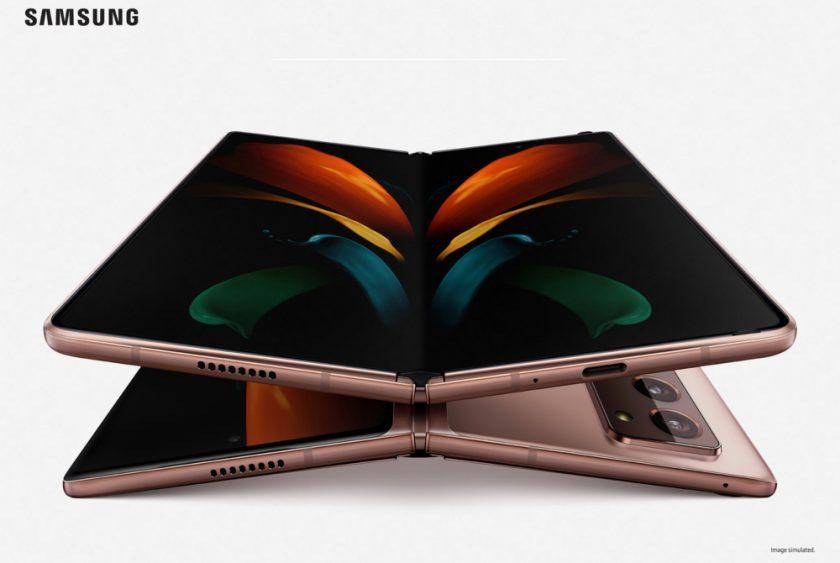 Samsung представила новый складной смартфон с гибким экраном