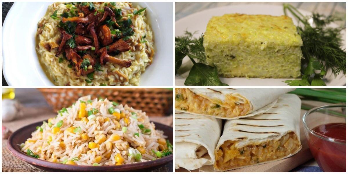 7 вкусных и сытных рецептов из риса