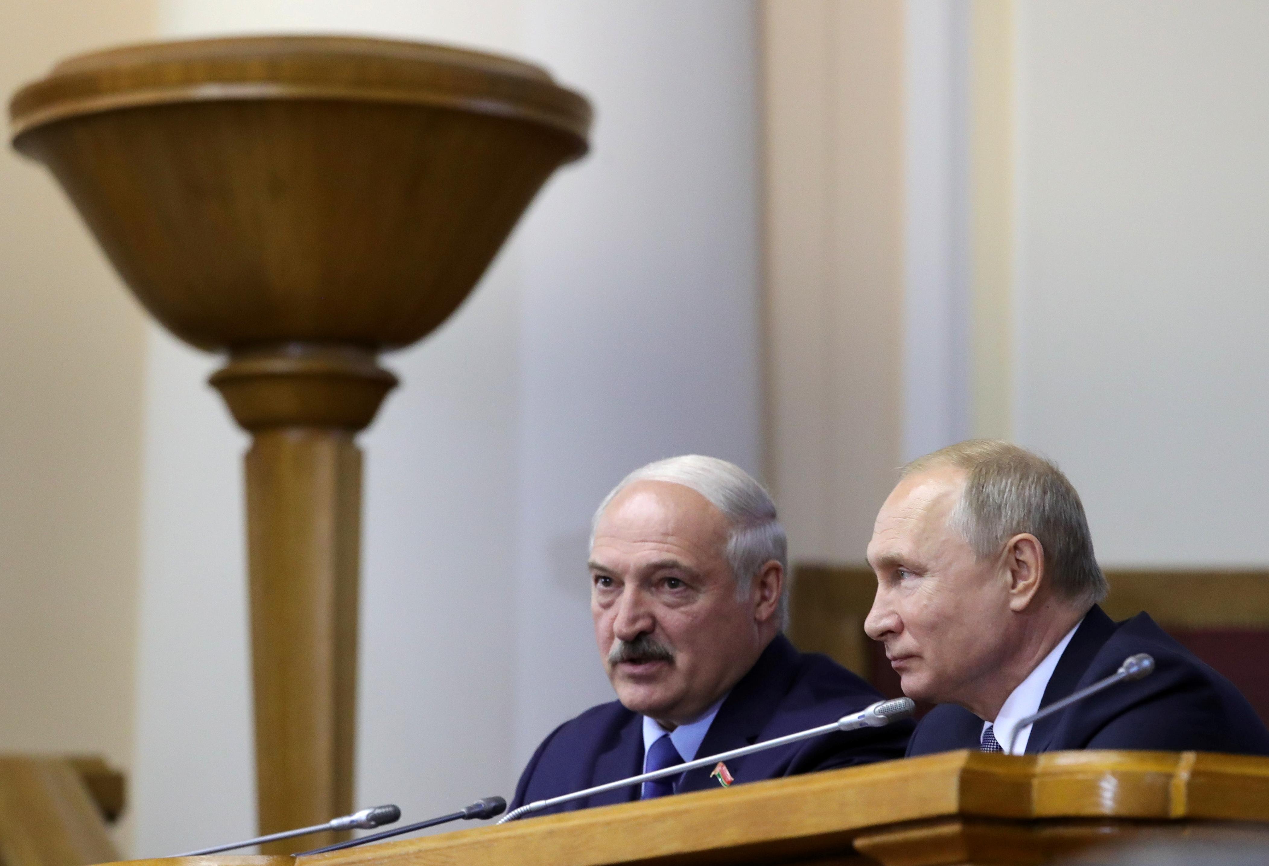 Россия поддержала белорусские санкции против стран Балтии