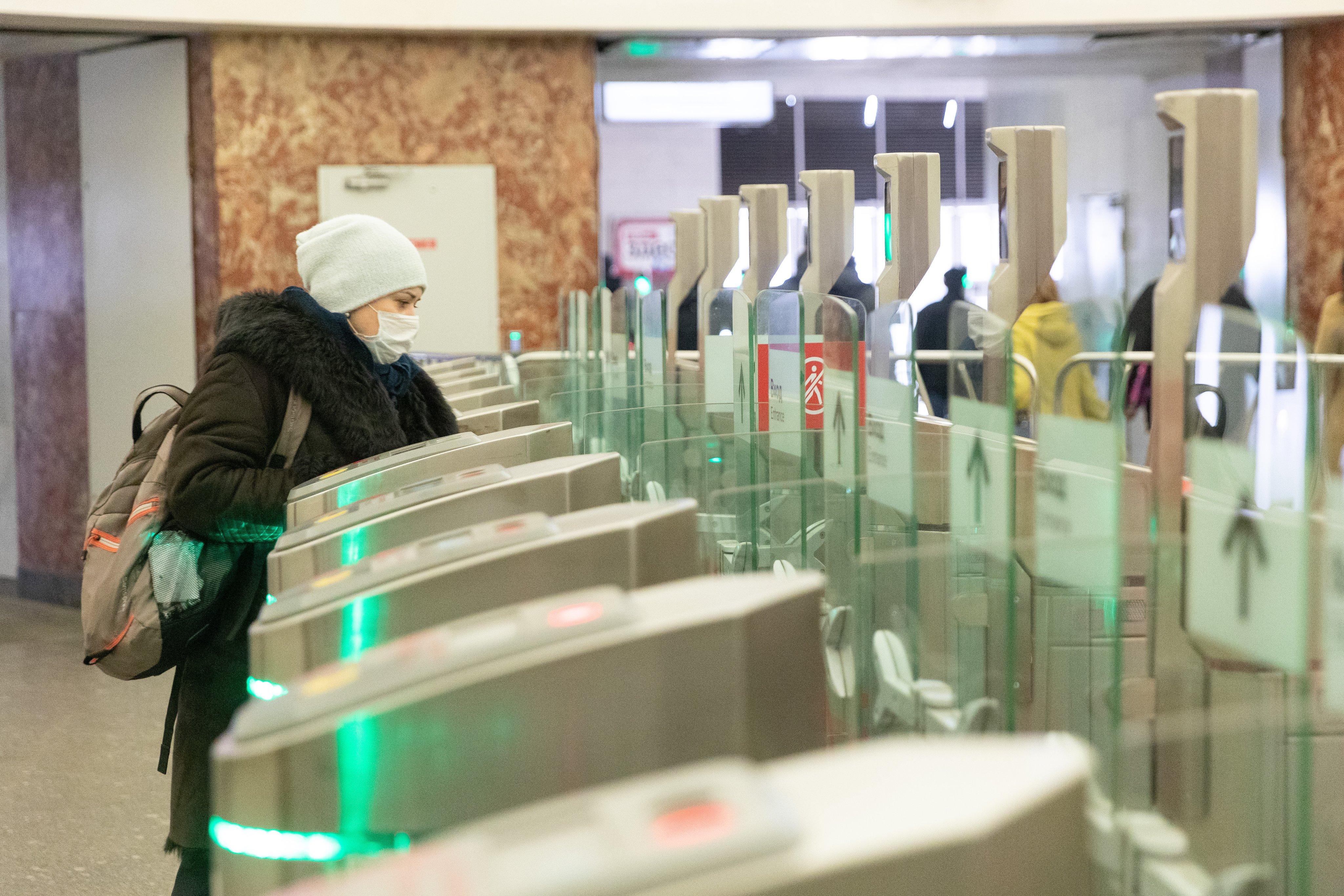 В московском метро введут оплату по лицу