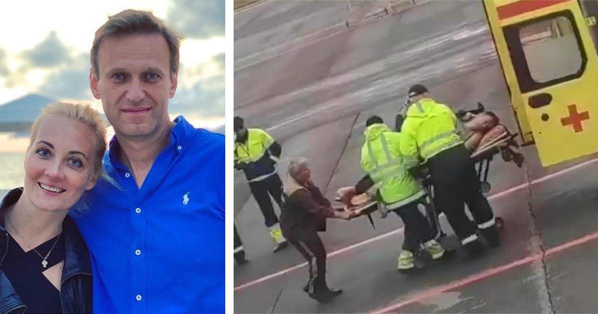 Фото Правительство Германии: Навальный отравлен веществом из группы