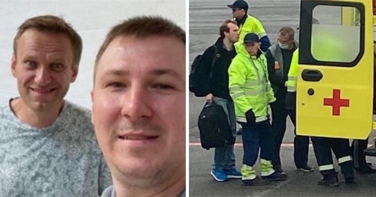 """""""Алексей, дыши!"""" Попутчик рассказал, кто спасал Навального в самолете"""
