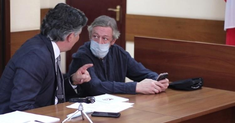Прокурор запросил для Ефремова 11 лет колонии