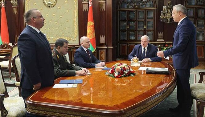Лукашенко сменил главу КГБ и мэра Минска