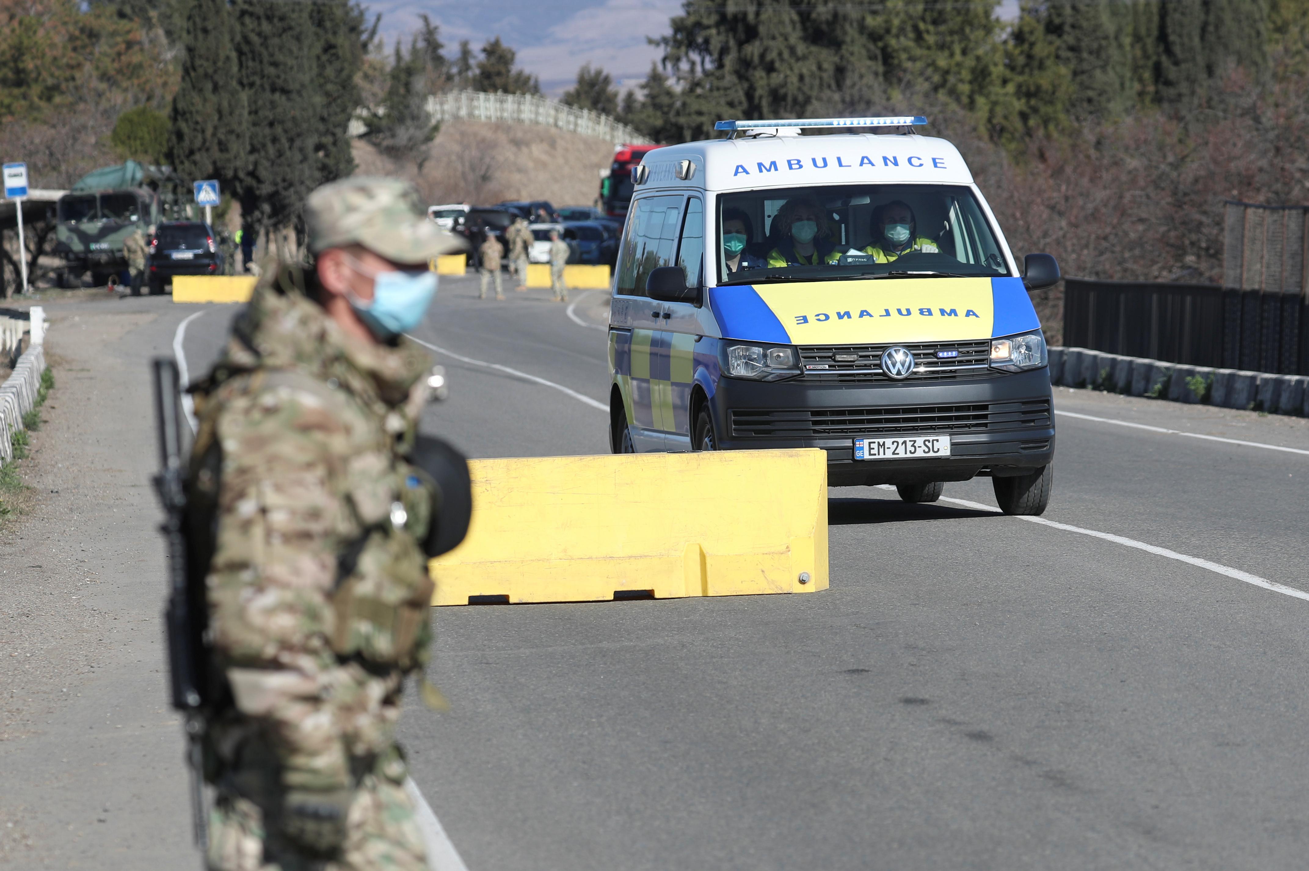 В центре Тбилиси прогремел взрыв
