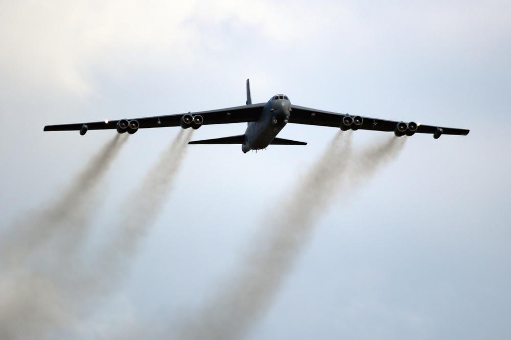 Бомбардировщики ВВС США изучили военную активность РФ в Крыму