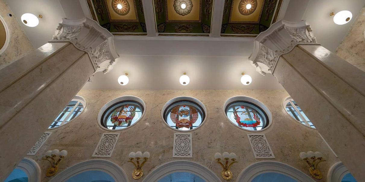 В Москве открылся после реставрации Северный речной вокзал