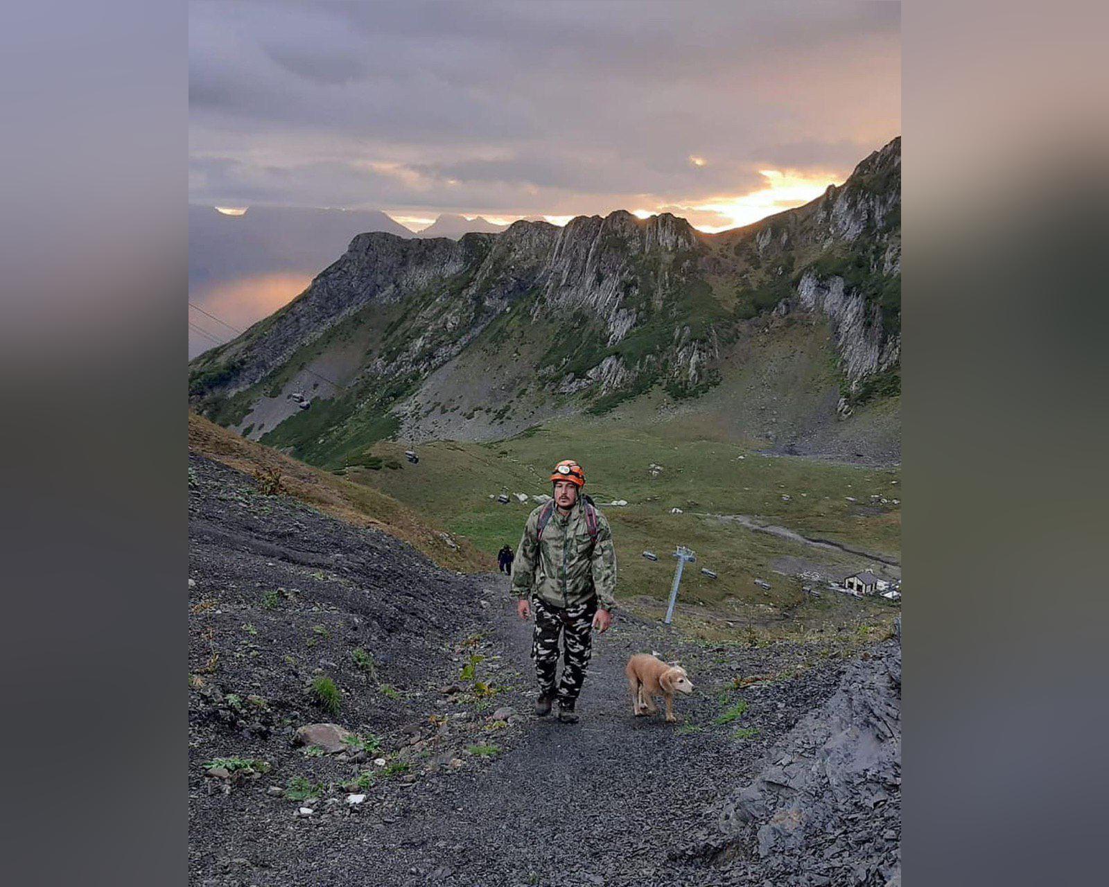 В горах Сочи потерялись 8 детей
