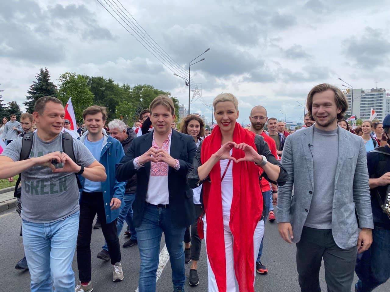 Белорусские власти заявили о попытке Колесниковой выехать на Украину