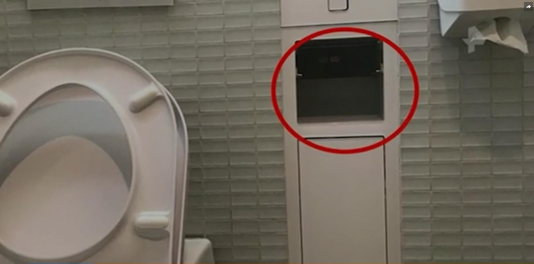 В женском туалете Мариинского театра нашли скрытую камеру