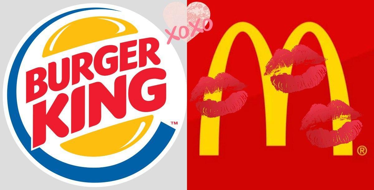Burger King признался в любви McDonald's в рамках ЛГБТ-недели в Финляндии