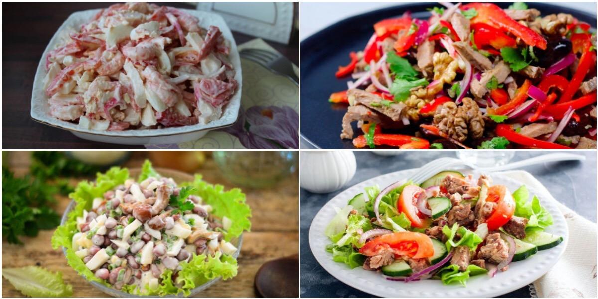 Подборка салатов на каждый день