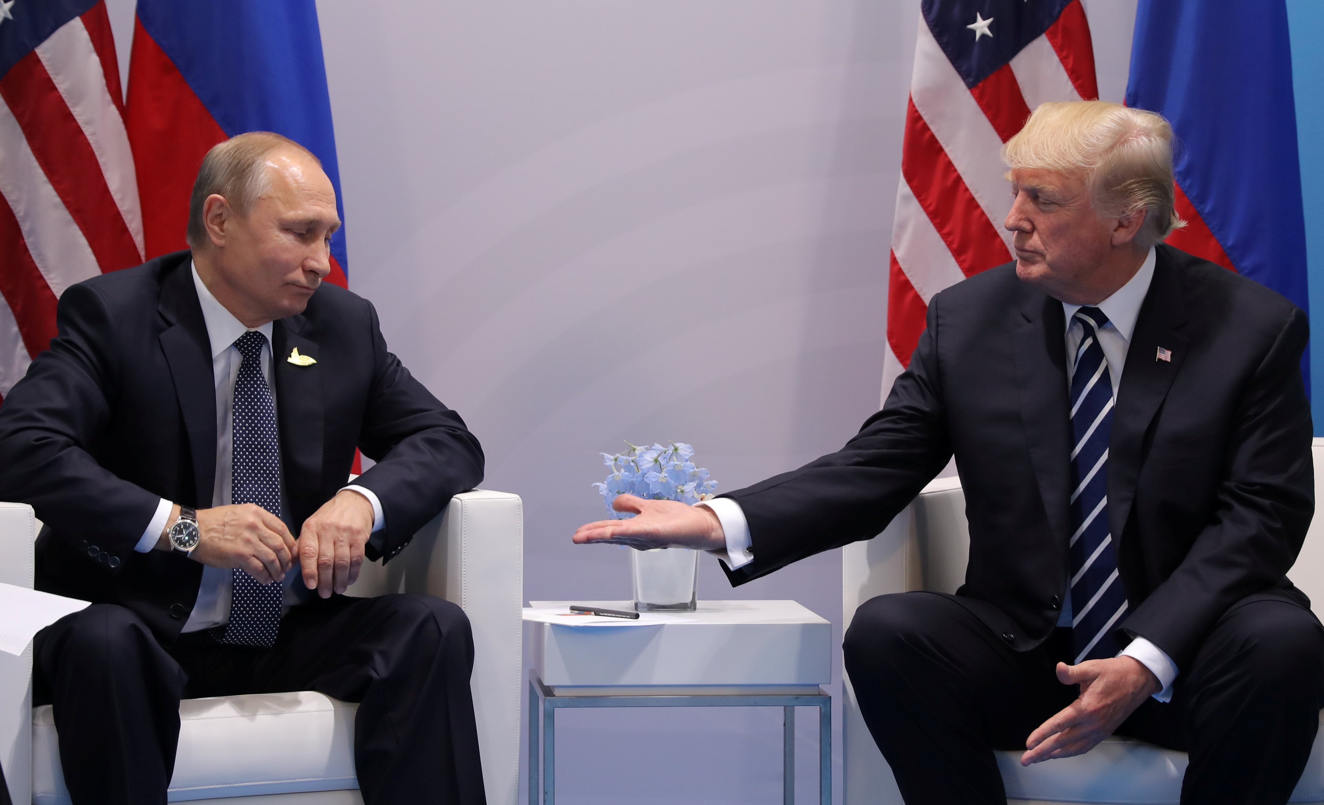 Трамп похвастался дружбой с Путиным и Ким Чен Ыном