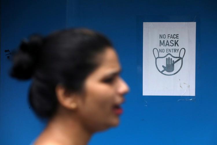 Индия установила новый рекорд по числу заболевших от коронавируса