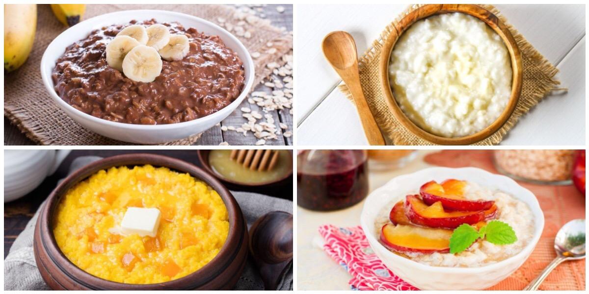 ТОП-7 сытных и вкусных каш на завтрак