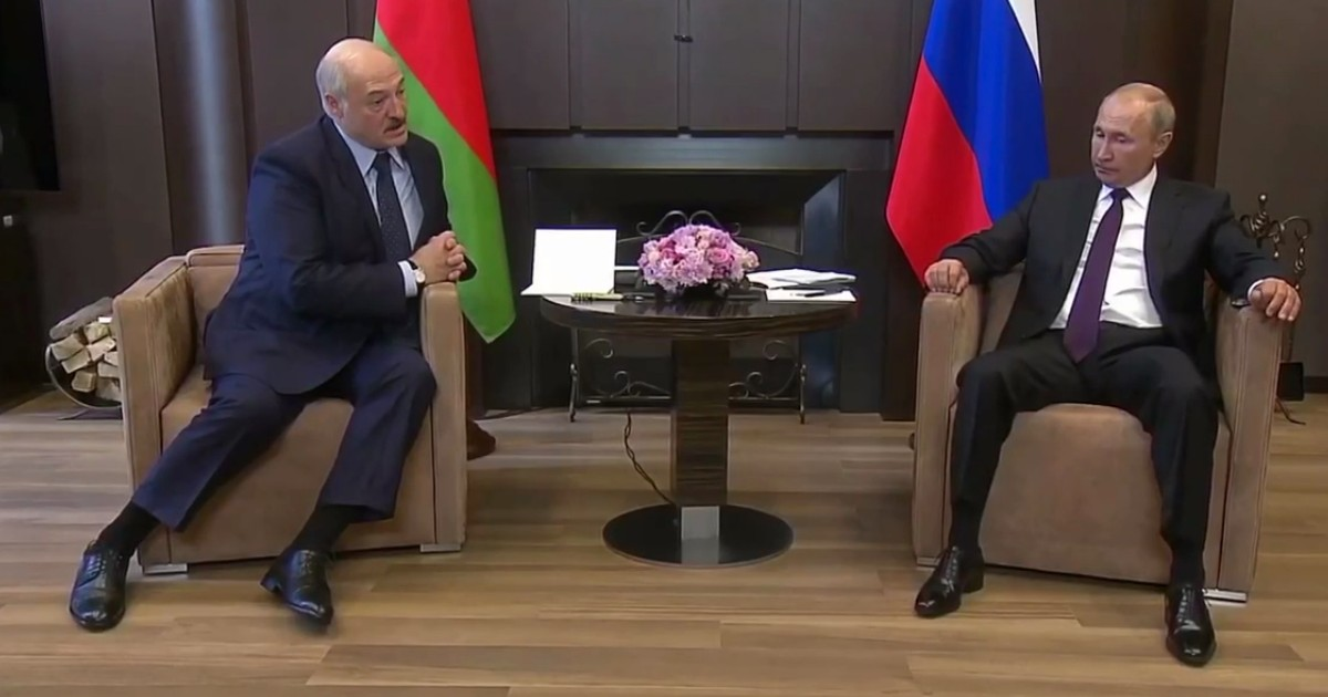 Путин дал Лукашенко кредит на $1,5 млрд и сделал заявление по Белоруссии