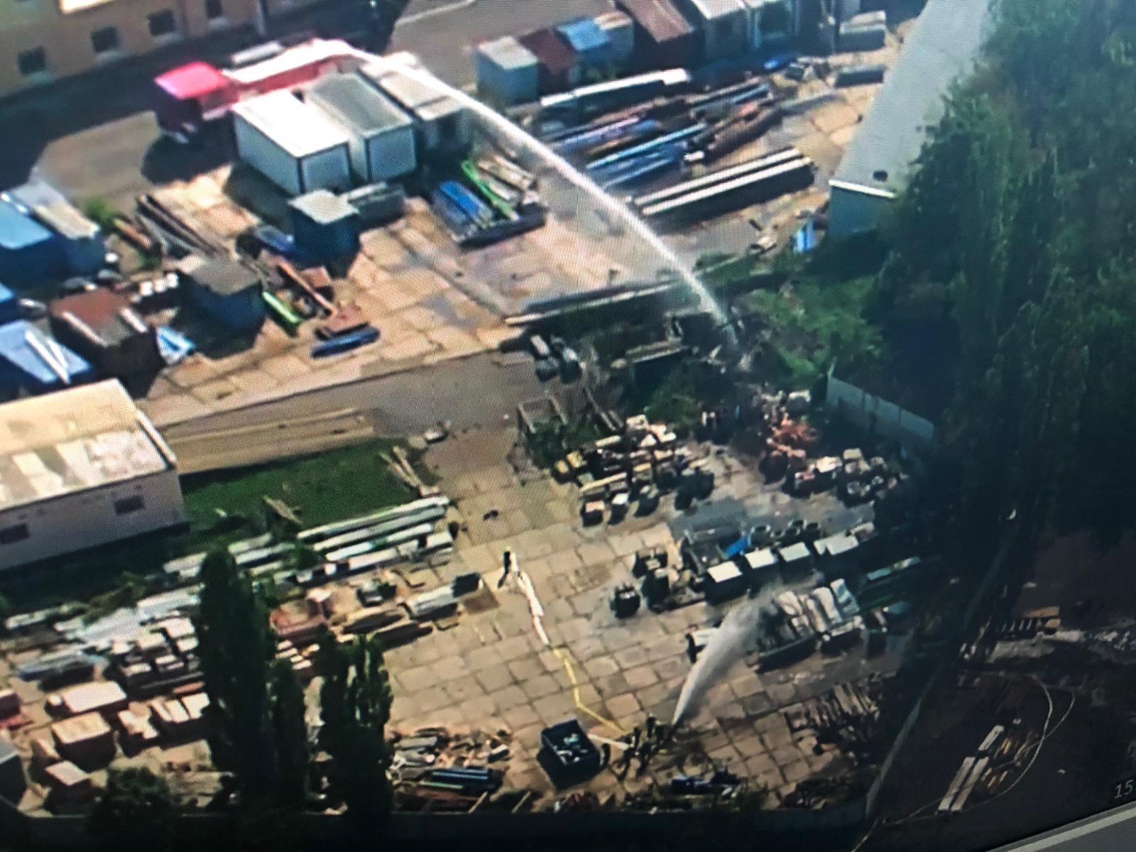 В Чехии взорвался полицейский склад с боеприпасами