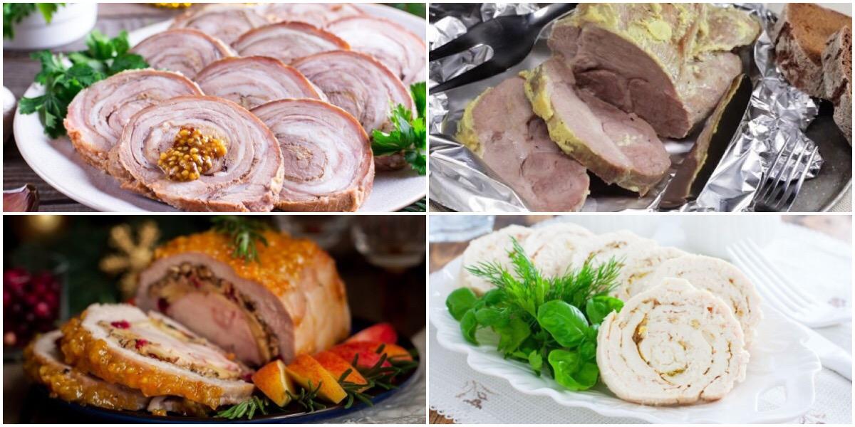 Подборка рецептов запеченного мяса