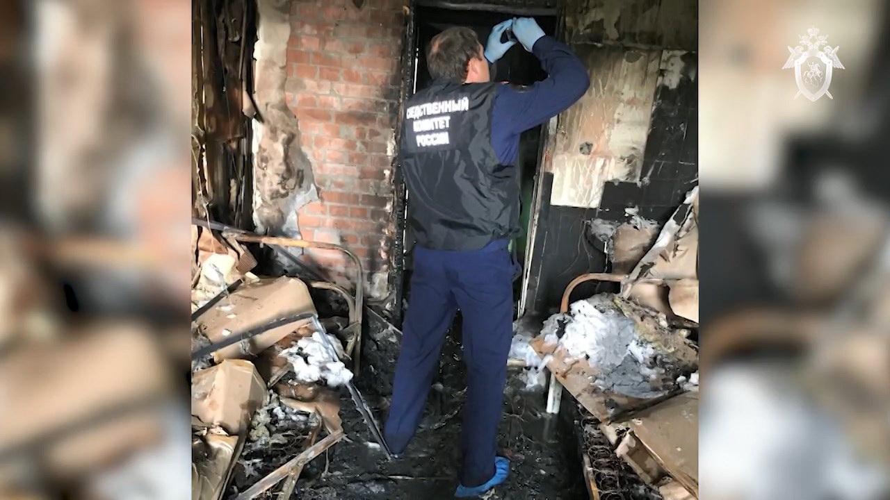 Пожар в наркологической клинике Красноярска произошел из-за поджога
