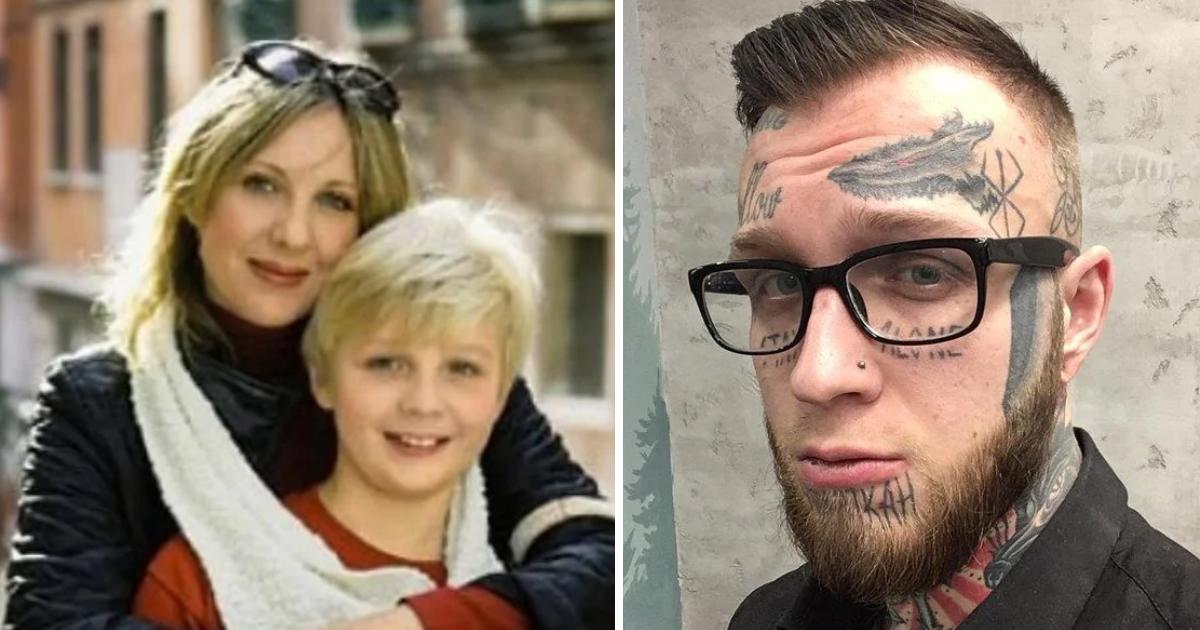 Сын Елены Яковлевой показал, как выглядит без татуировок (ФОТО)
