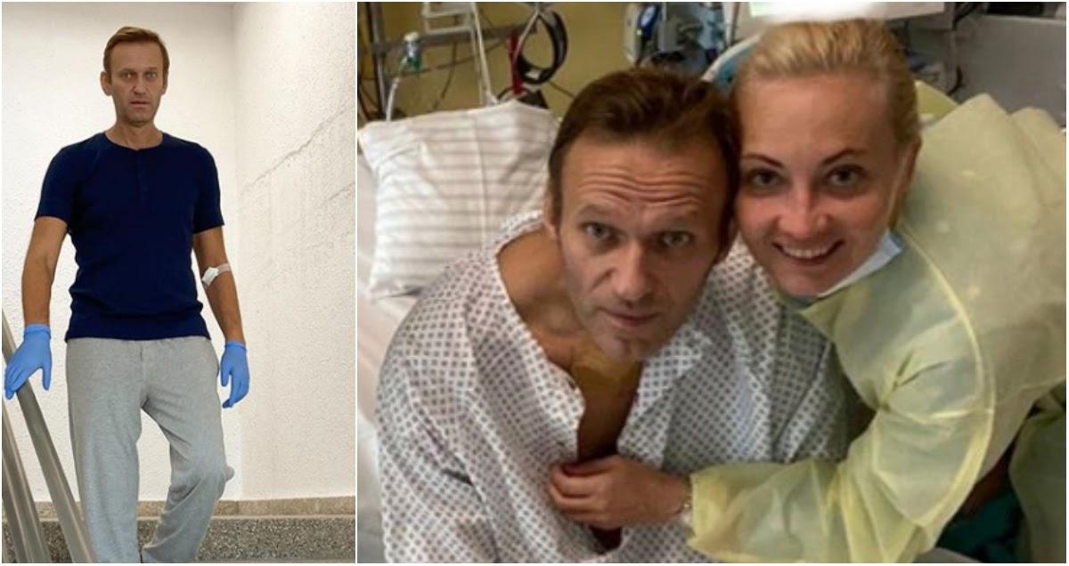 Навальный вышел на связь и рассказал о своем лечении