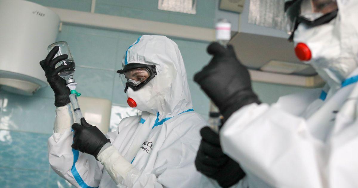В России впервые с лета выявлено более 6 тыс. случаев COVID-19 за сутки