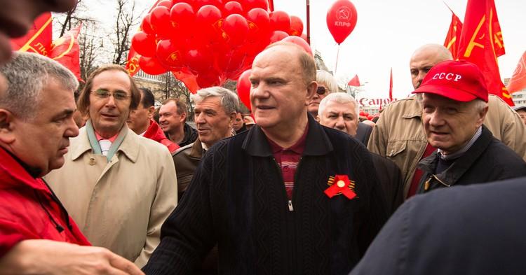 """Зюганов призвал """"разобраться с каждой сволочью"""", осквернившей памятник Ленину"""