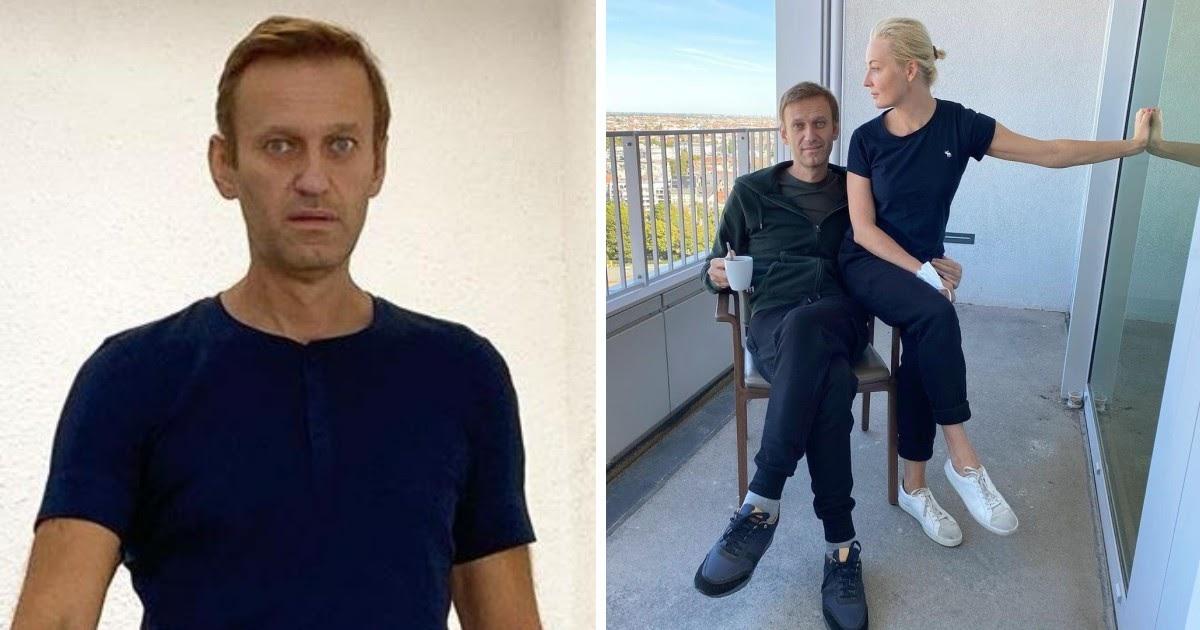"""""""Требую вернуть одежду"""". Навальный написал в блог впервые после отpaвления"""
