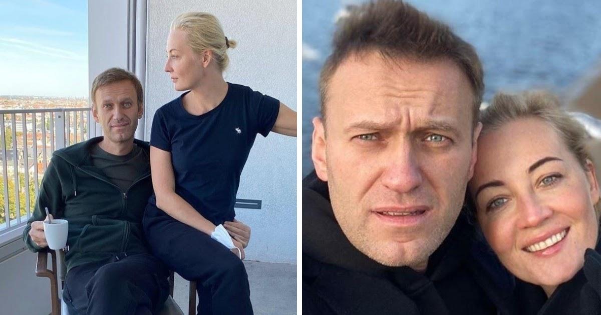"""""""Юля, ты меня спасла"""". Навальный рассказал, как жена вернула его к жизни"""