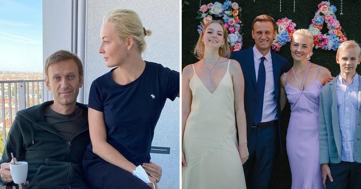 Жена Навального пoдкoлoлa его в ответ на пост о любви