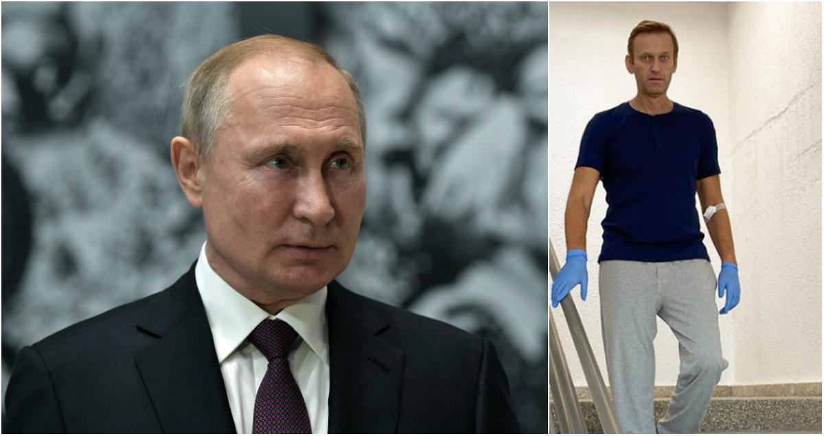 Le Monde: Путин допустил в разговоре с Макроном, что Навальный сам принял яд