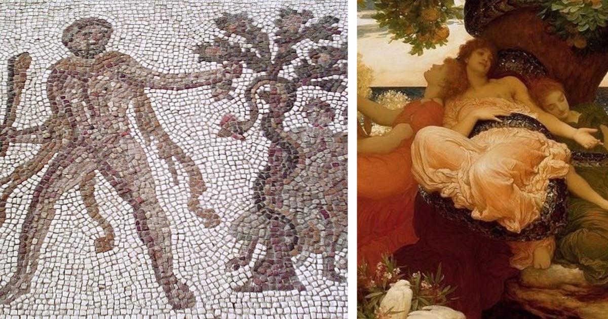 Яблоки Гесперид: краткое содержание мифа о Геракле и яблоках Гесперид