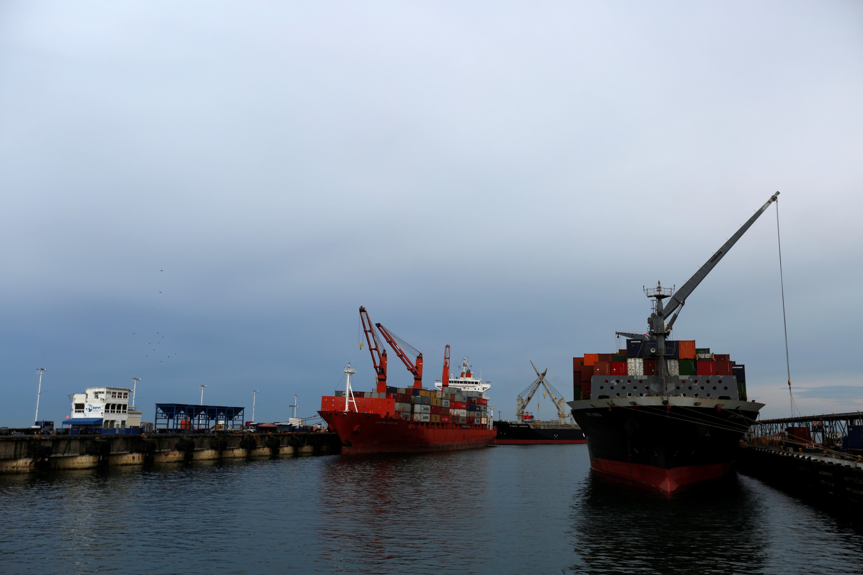 Российский фрегат столкнулся с контейнеровозом в датских водах